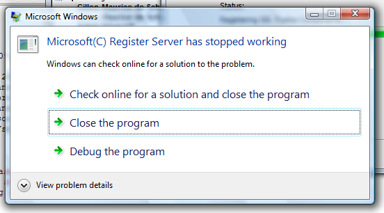 Microsoft Register Server